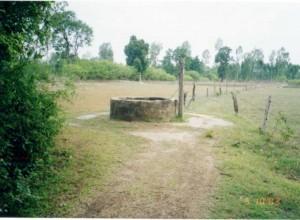 村はずれにある飲料用の井戸
