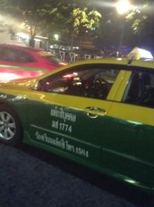 ご近所の個人タクシー