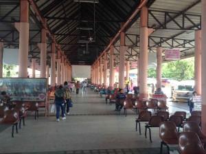 ウボンラチャタニーのバスターミナル