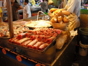 ミンブリ市場・魚屋(淡水魚)