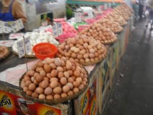 ミンブリの市場:たまご専門店