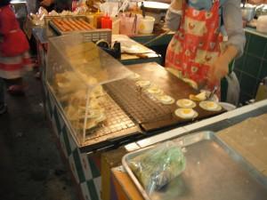 ミンブリの市場:お菓子