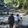 タイの人は滝が好き