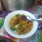 ミャンマー・ヤンゴン市内で出会った屋台:モヒンガー