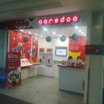 ミャンマー・マンダレー国際空港での携帯 SIM 販売店