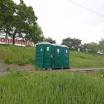 ウラジオストク市内の公衆トイレ