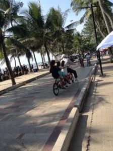 4人乗り自転車に挑戦