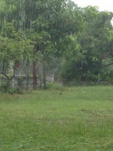 イサーンの雨季:スコール