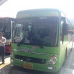 韓国・光州(Gwanjyu)でのバスツアー