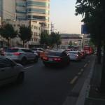 韓国の乗用車のボディーカラー