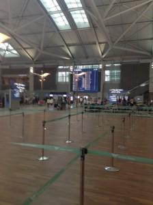 仁川国際空港ターミナル・チェックインカウンター
