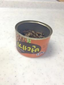 韓国カイコの缶詰