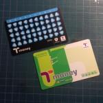 韓国ソウルの交通カード T-money