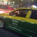 タイのタクシー運転手事情