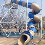 韓国、春川駅近くの子供がワクワクする公園