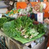バンコク近郊の市場