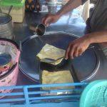 ミャンマー人のロティ売り
