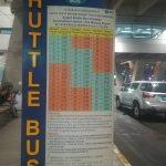 スワンナプーム空港とドンムアン空港を結ぶシャトルバス