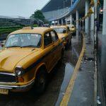 コルカタ空港でのプリペイド・タクシー