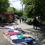 掘り出し物がみつかるかもしれないフリーマーケット@ウラジオストク