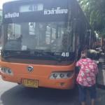 タイの交通機関:バンコク市内のバス