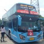 タイの交通機関:長距離バス