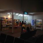 那覇空港LCCターミナル国際線出発ロビーに弁当が無い。